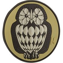 Maxpedition PVC Owl Patch, Arid