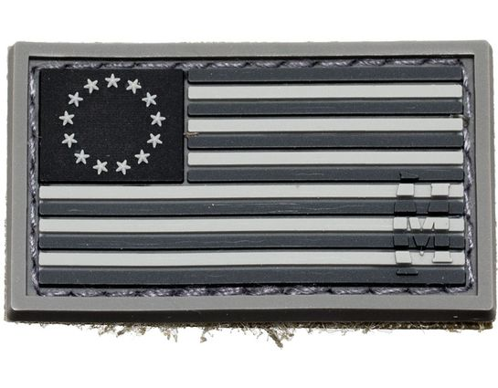 Maxpedition BROSS 1776 Betsy Ross Flag Patch, SWAT, KnifeCenter Exclusive