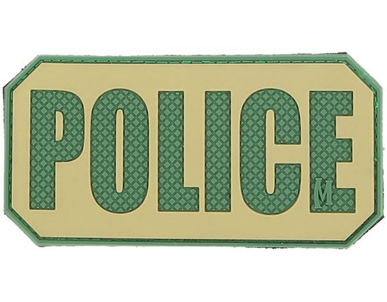 Maxpedition PVC Police Patch, Arid