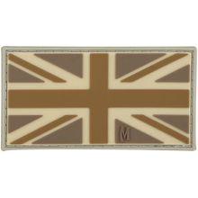 Maxpedition PVC United Kingdom Flag Patch, Arid