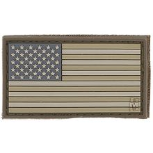 Maxpedition PVC Small USA Flag Patch, Arid