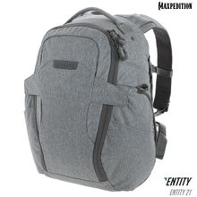 Maxpedition NTTPK21AS Entity 21 CCW-Enabled EDC Backpack 21L, Ash