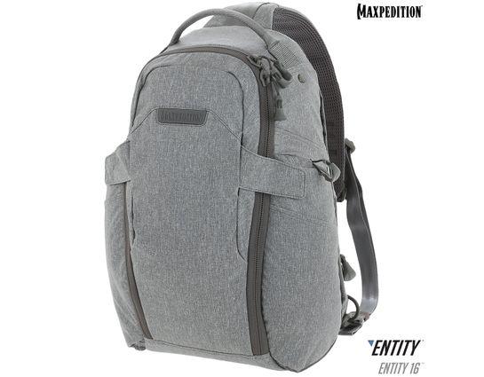 Maxpedition NTTSL16AS Entity 16 CCW-Enabled EDC Sling Pack 16L, Ash