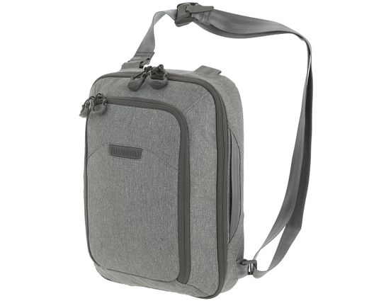 Maxpedition NTTSLTLAS Entity Tech Sling Bag, Large 10L, Ash