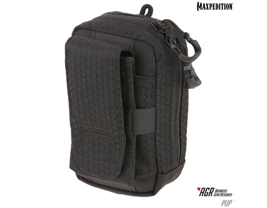 Maxpedition PUPBLK AGR Advanced Gear Research PUP Phone Utility Pouch, Black