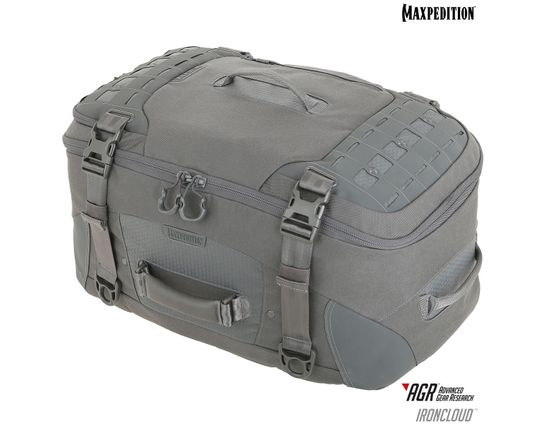 Maxpedition RCDGRY AGR Advanced Gear Research Ironcloud Adventure Travel Bag, Gray