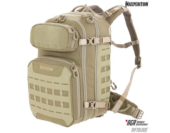 Maxpedition Riftblade AGR Advanced Gear Research CCW-Enabled Backpack 30L, Tan