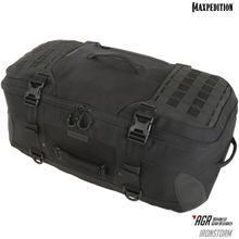 Maxpedition RSMBLK AGR Advanced Gear Research Ironstorm Adventure Travel Bag, Black