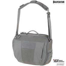 Maxpedition SKRGRY AGR Advanced Gear Research Skyridge 12.5L Tech Messenger Bag, Gray