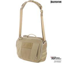 Maxpedition SKRTAN AGR Advanced Gear Research Skyridge 12.5L Tech Messenger Bag, Tan