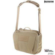 Maxpedition SKYTAN AGR Advanced Gear Research Skyvale 16L Tech Messenger Bag, Tan