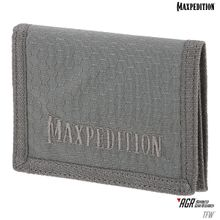 Maxpedition TFWGRY AGR Advanced Gear Research TFW Tri-Fold Wallet, Gray