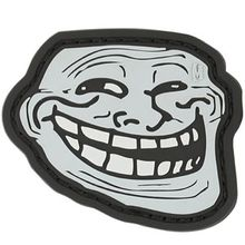 Maxpedition TRLFS PVC Troll Face Patch, SWAT