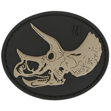 Maxpedition TRYSS PVC Triceratops Skull Patch, SWAT