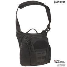 Maxpedition VLDBLK AGR Advanced Gear Research Veldspar 8L Crossbody Shoulder Bag, Black