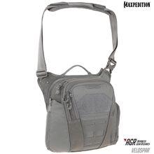 Maxpedition VLDGRY AGR Advanced Gear Research Veldspar 8L Crossbody Shoulder Bag, Gray
