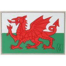 Maxpedition WALEC PVC Welsh Flag Patch, Color