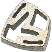 Medford Shield Titanium Crest Charm - Gold