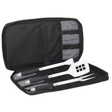 Messermeister 4 Piece Meister Travel Barbeque Set (BBQ-4S)