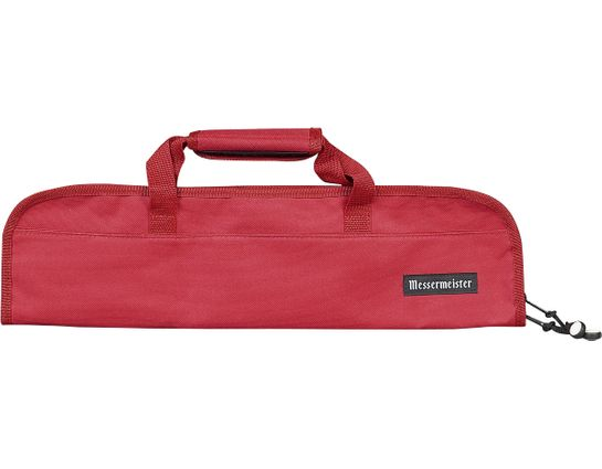 Messermeister 5 Pocket Red Knife Bag