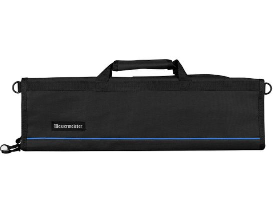 Messermeister 8 Pocket Black Padded Knife Roll
