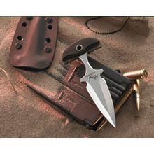 Mercworx Seraphym Push Dagger 3 inch S30V Blade, Micarta Handles