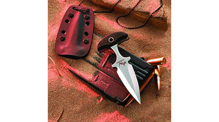 Mercworx Seraphym with 154CM Steel Fixed Blade 5 inch Overall Push Dagger