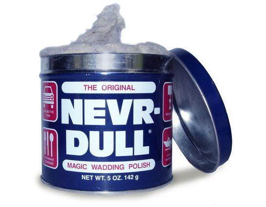 Nevr-Dull Magic Wadding Metal Polish, 5 oz. Can
