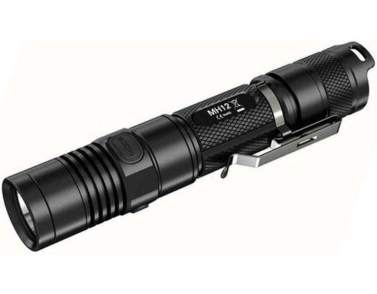 NITECORE MH12 USB Rechargeable LED Flashlight, 1,000 Max Lumens