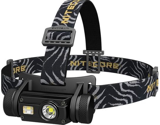 NITECORE HC65 Rechargeable Multi-Colored LED Headlamp, Black, 1000 Max Lumens