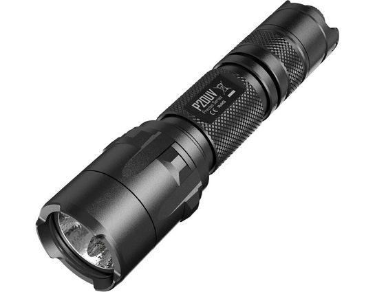 NITECORE Precise P20UV Strobe Ready and Ultraviolet CR123 LED Flashlight, 800 Max Lumens