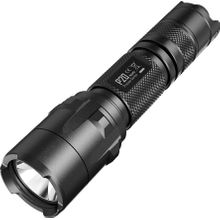 NITECORE Precise P20 Strobe Ready CR123 LED Flashlight, Black, 800 Max Lumens
