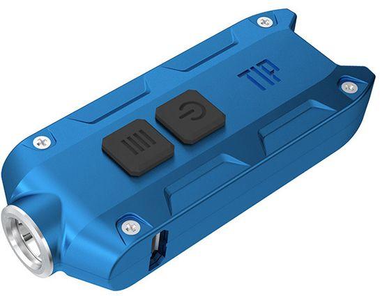 NITECORE T-Series Tip Rechargeable Keychain LED Flashlight, Blue, 360 Max Lumens