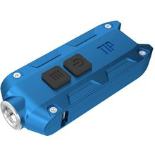 NITECORE T-Series Tip Rechargeable Keychain LED Flashlight, Blue, 360 Max Lumens