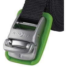 Nite Ize CamJam Tie Down Strap with Green Non-Slip Buckle, 18 ft. (CJWR18-09-R6)