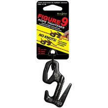 Nite Ize Figure 9 Large Rope Tightener, Black, Single Pack (F9L-02-01)