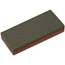 Norton India Aluminum Oxide Combination Grit Coarse/Fine Benchstone 4 inch x 1.75 inch x 0.625 inch