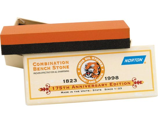 Norton 6 inch Coarse/Fine Grit Combination Benchstone