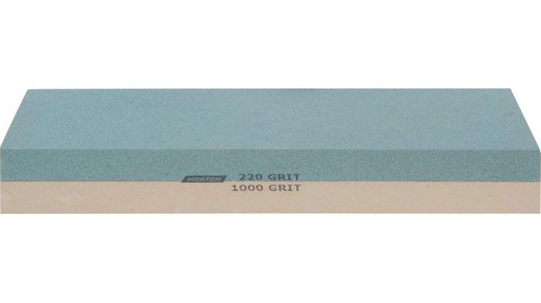 Norton Japanese-Style Combination Waterstone 220/1000 Grit, Blue Plastic Storage Box
