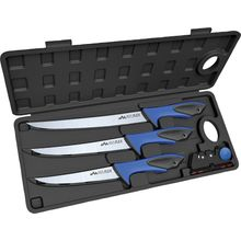 Outdoor Edge Reel-Flex Pak Fillet Knife Set with Hard Case