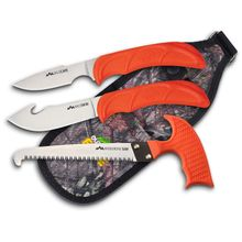 Outdoor Edge WildGuide Four Piece Field Dressing Kit, Mossy Oak Nylon Sheath