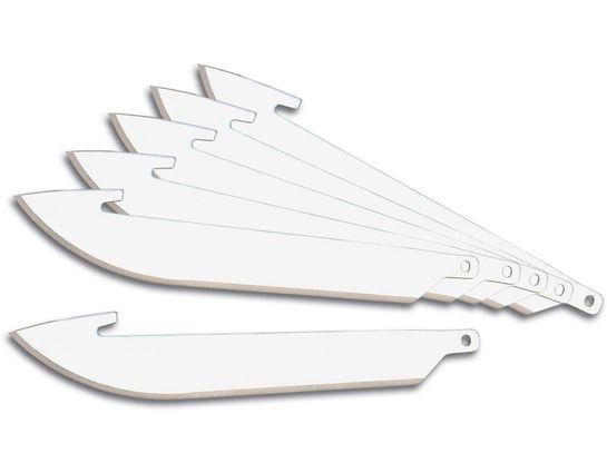 Outdoor Edge 3.5 inch Razor-Lite and Razor-Blaze Pack of 6 Replacement Blades