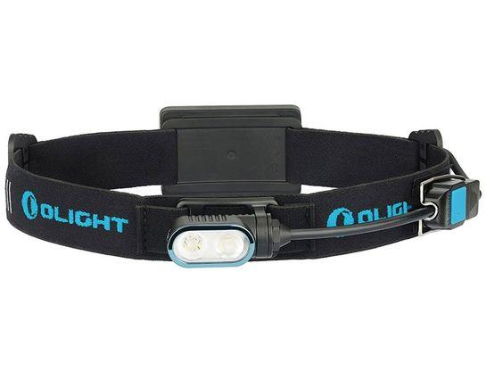 Olight Array USB Rechargeable LED Running Headlamp/Flashlight, Cool White, 400 Max Lumens