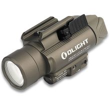Olight Baldr Pro LED Weaponlight, Desert Tan, 1350 Max Lumens