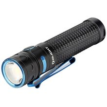Olight Baton Pro Rechargeable LED Flashlight, Black, 2000 Max Lumens