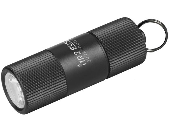 Olight i1R 2 EOS Rechargeable Keychain LED Flashlight, 150 Max Lumens, Black