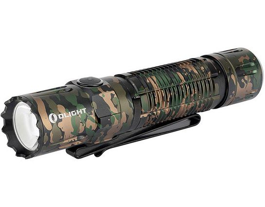 Olight M2R Pro Warrior Rechargeable LED Tactical Flashlight, Camo, 1800 Max Lumens (1 x 21700)