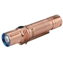 Olight M2R Cu Warrior Rechargeable LED Tactical Flashlight, Raw Copper, 1500 Max Lumens (2 x CR123A or 1 X 18650)