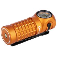 Olight Perun Mini Orange Right-Angle Rechargeable LED Flashlight, 1000 Max Lumens (1 x 18650)