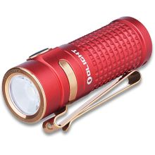 Olight Limited Edition S1R II Baton Cree High Performance CW LED Flashlight, Red, 1000 Max Lumens